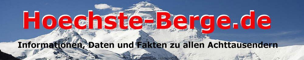 Die h�chsten Berge der Welt Infos Daten Fakten